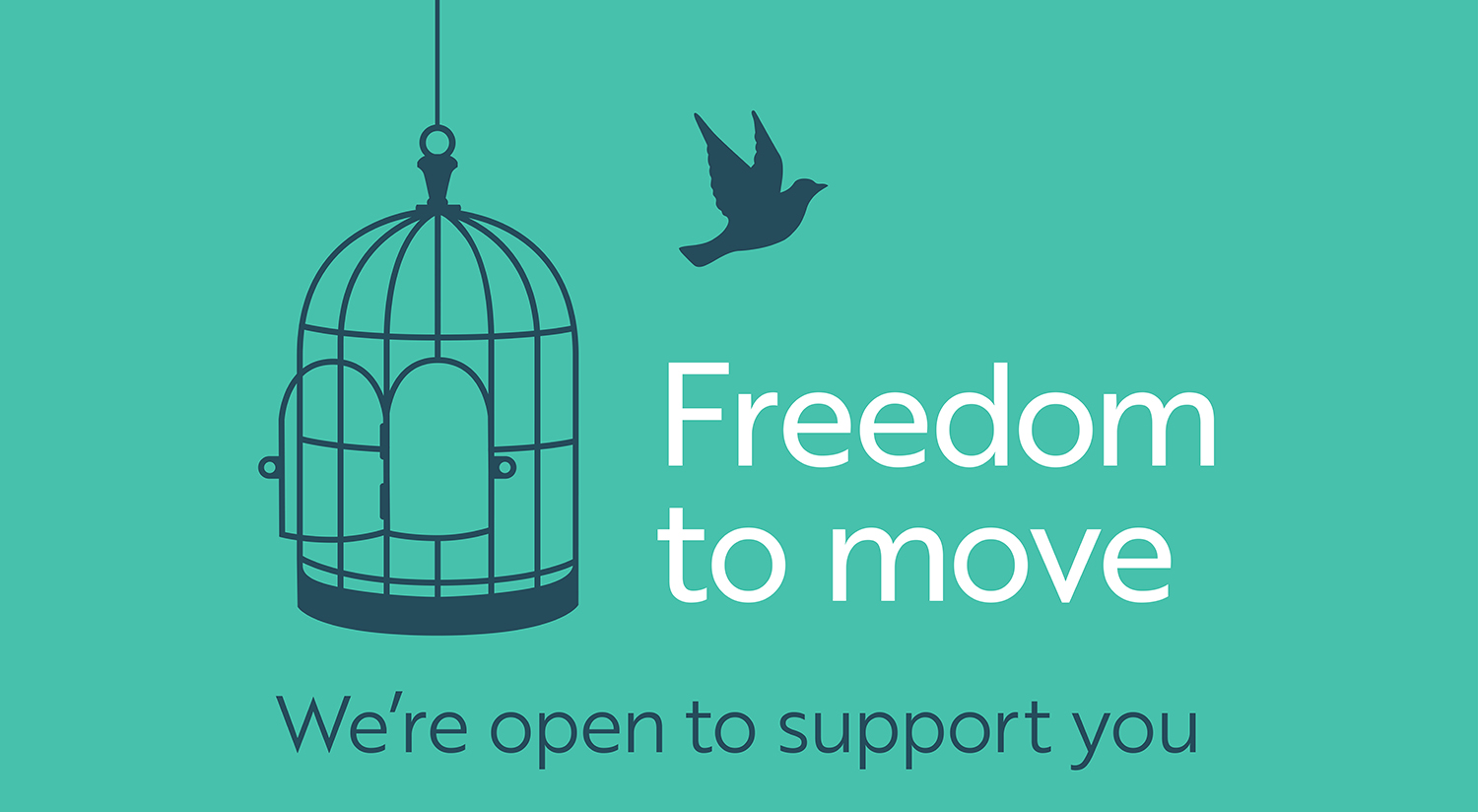 Freedom to move!