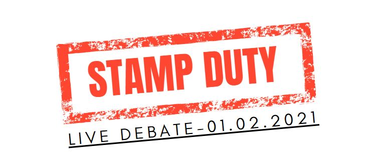 MPs to debate the stamp duty holiday extension – watch live!